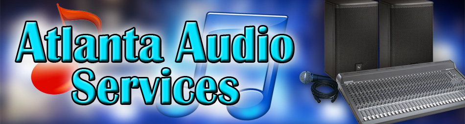 Atlanta Audio Services for audio, lighting, stages, projection, DJ services, karaoke and more.