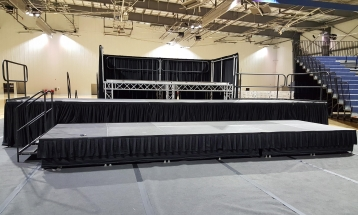 Lakepoint 72' x 64' Stage